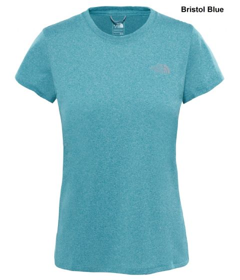 The North Face Womens Reaxion Amp Crew - Training Tee - Quick Drying
